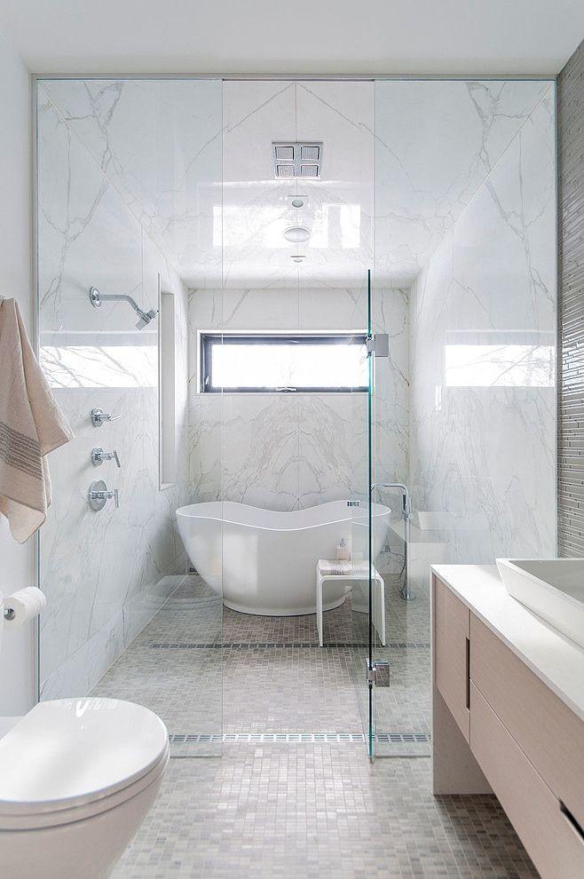 baie perete de sticla separator