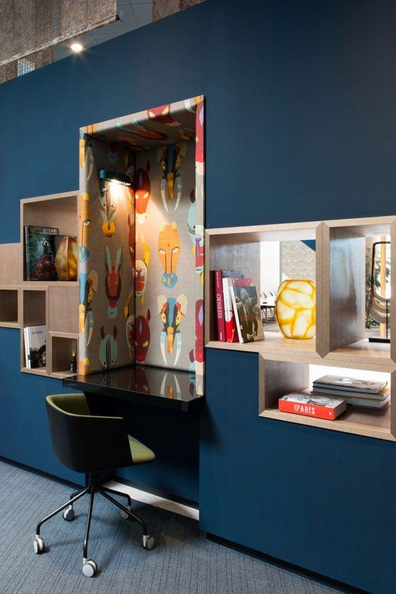 birou design interior depozitare expunere creativa