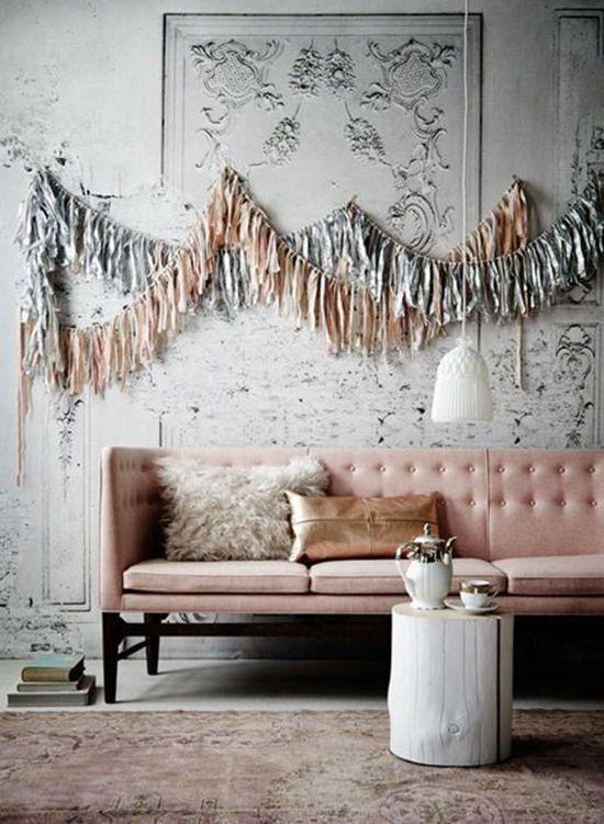 canapea sofa roz pal elegant