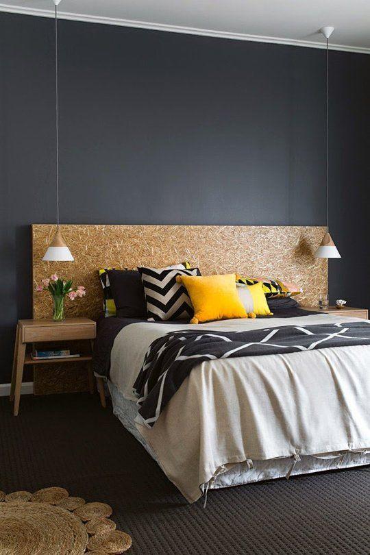 design interior OSB dormitor