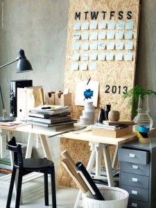 design interior birou improvizat chirie