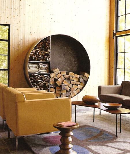 design interior gavia concept depozitare chic lemn semineu