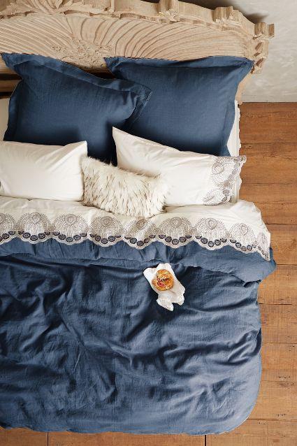 design interior lenjerie cosy albastra