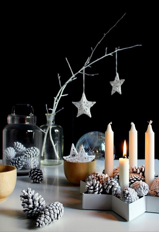 design interior table setting candles