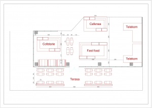 proiectare si design interior plan 2D