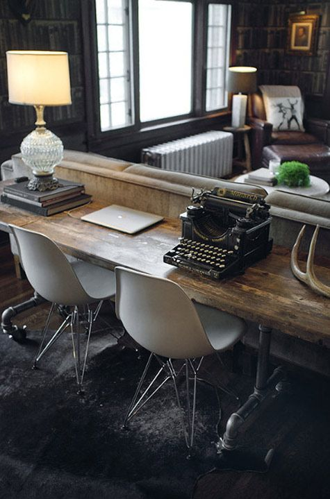 home office design interior birou inspirational
