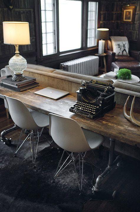 home office design interior birou inspirational