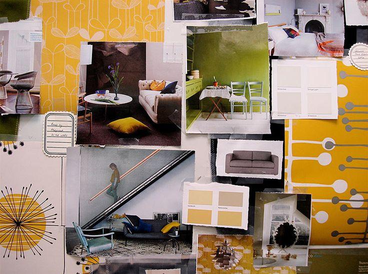 interior design culori galben