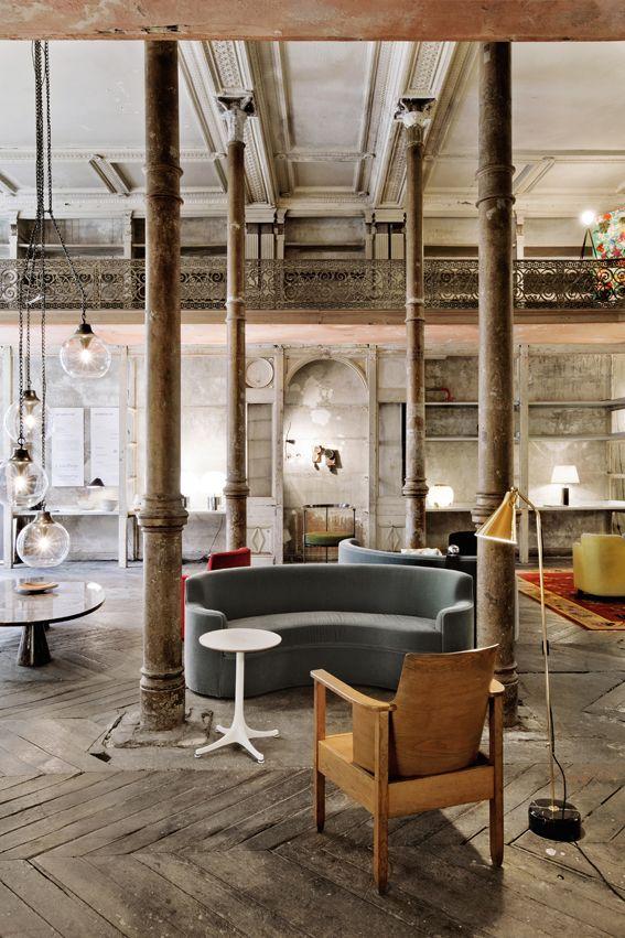 loft stil eclectic scandinav
