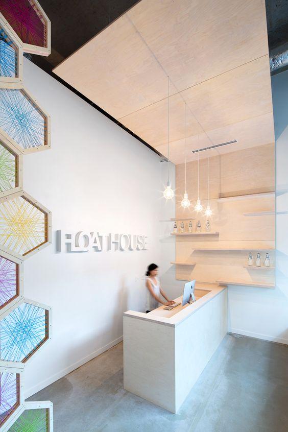 receptie design interior premium