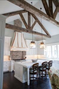 design interior bucatarie shabby chic