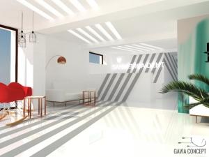 design interior amenajare receptie stomatologie