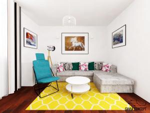 design interior living colorat coltar