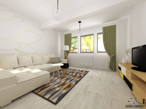 living cozy design interior culori calde