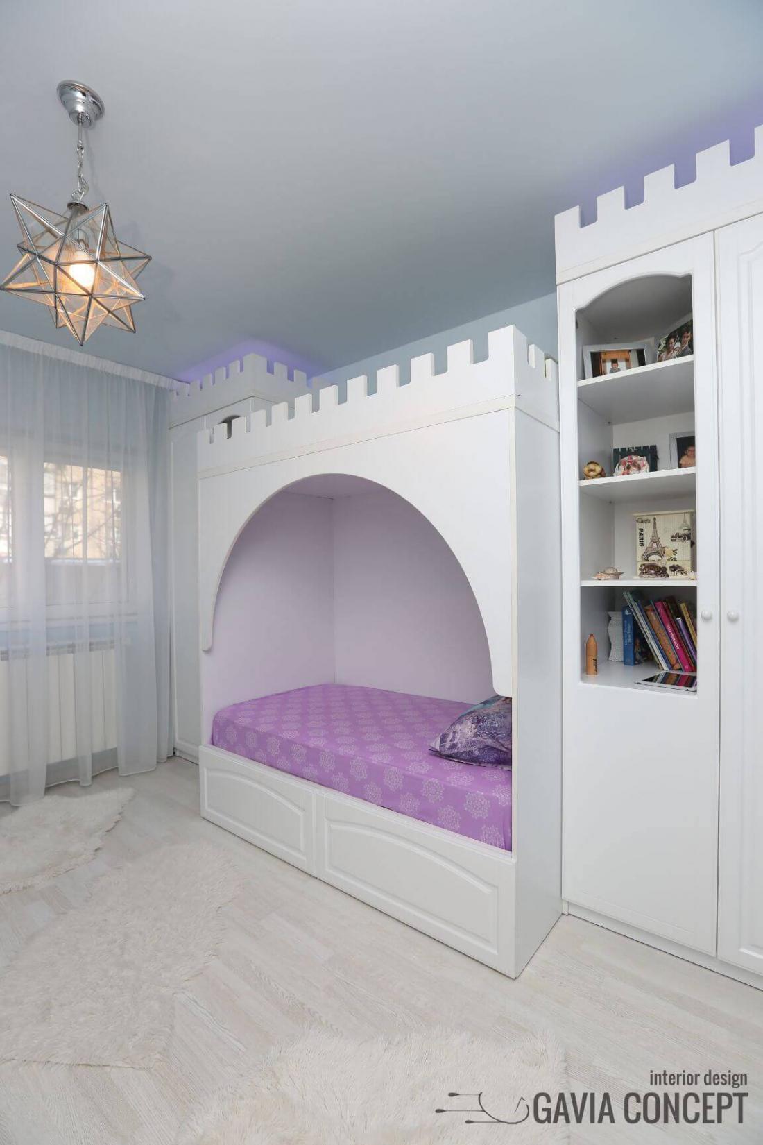 Dormitor fata fetita frozen elsa desene animate