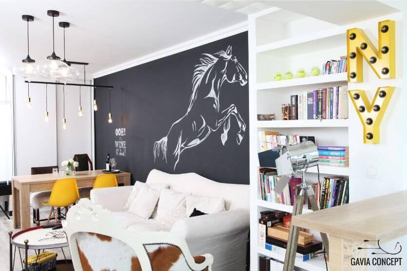 apartament iancului elegant, calatorii, blackboard, tabla scris, bucatarie eleganta dormitor alb baie