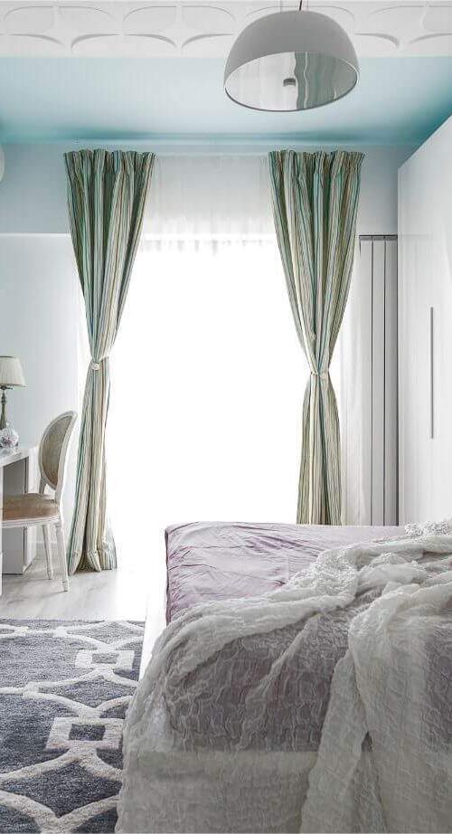 apartmanet 3 camere doamna ghica pastel diafan feminin alb roz