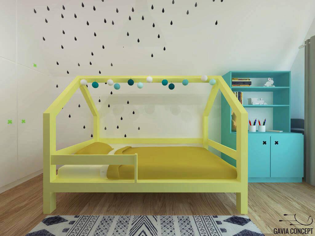 dormitor baiat munte