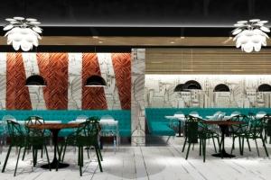 design de interior comercial cafenea