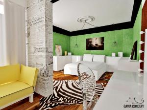 design interior dormitor exotic