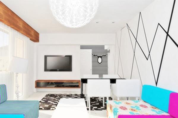 design de interior rezidential sufragerie