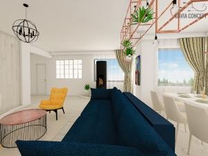 design interior living semineu