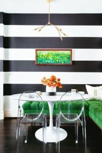 design interior verde dining elegant