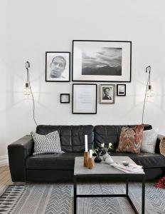 design interior apartament inchiriat living