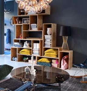 design interior idei de biblioteca DIY
