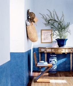 design interior vopsea decorativa denim