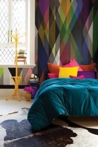 paint your home design interior perete graphic