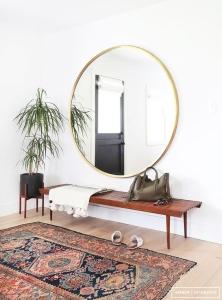 stil scandinav oglinda hol